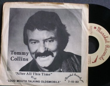 TOMMY COLLINS~After all This Time~Marshal 15-82 Rare M- 45