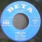 TONI STEVENS~First Kiss~Beta 1001 Promo Rare 45