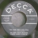WARREN COVINGTON~Tea for Two Cha Cha~Decca 30704 VG++ 45