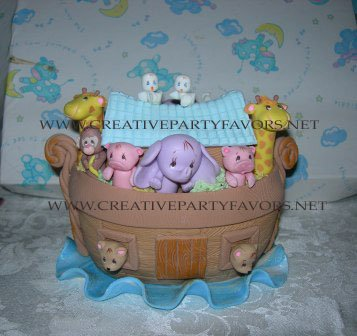 Noah's Ark Centerpiece