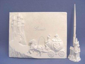 Cinderella Guest Book Pen