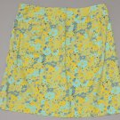 THE LIMITIED Women's stretch a line above knee length floral skirt 2 regular