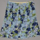 OLD NAVY Junior's lined floral printed flare skirt 1