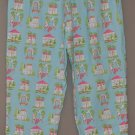 TALBOTS Womens stretch tapered leg house print 12