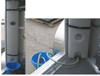 Slant Horse Trailer narrow sized water tank (caddy)  New Release High Country Plastics ON SALE
