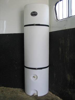 Half Moon Upright Water Caddy tank 48 Gal High Country Plastics