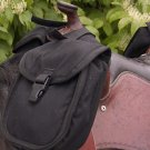CASHEL Small Saddle Horn Bag Black