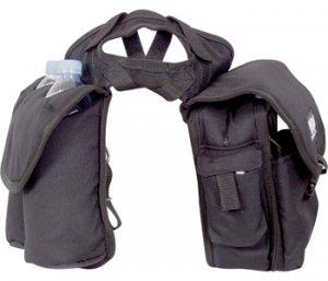 CASHEL Medium Saddle Horn Bag Black