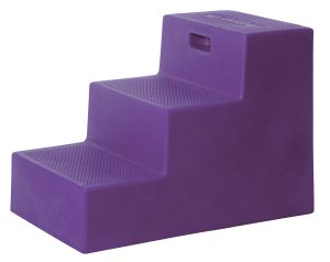 3 Step Horse Mounting Block Purple with storage High Country Plastics