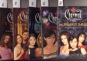 Lot of 5 Charmed - Power,Kiss,Soul,Again, Spirit PB