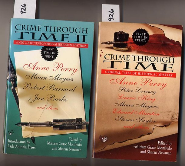 Lot of 2 Crime Through Time, Crime Through Time II PB