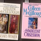 Lot of 2 Colleen McCullough - Indecent, Caesar's Women PB