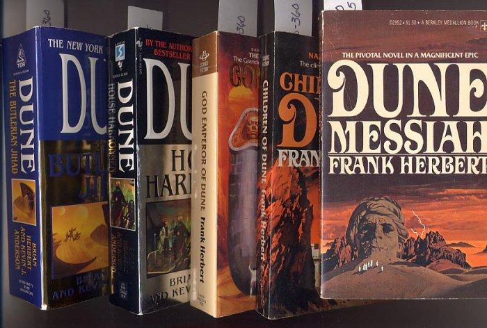 Lot of 5 Dune Children, Messiah, Emperor, Harkonnen, Butlerian PB