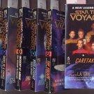 Lot of 6 Star Trek Voyager - #1,2,4,5,7,8 PB