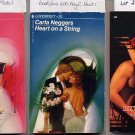 Lot of 3 Carla Neggers Matching Wits, Heart on a String, Bewitching PB