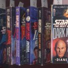 Lot of 7 Star Trek the Next Generation novels PB