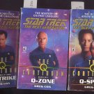 Lot of 3 Star Trek the Next Generation Continuum #47, #48, #49