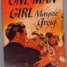 One Man Girl by Maysie Greig HC