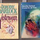 Lot of 2 Dorothy Garlock - Love for All Time, Yesteryear PB