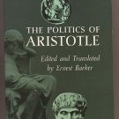 Politics of Aristotle edited by Ernest Barker SC