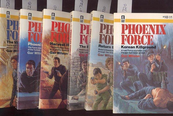 Lot of 6 Phoenix Force by Gar Wilson