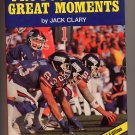 Pro Football's Great Moments 1987 Jack Clary HC