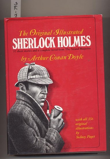 Original Illustrated Sherlock Holmes by Arthur Conan Doyle HC