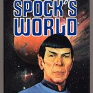 Spock's World by Diane Duane 1988 HC