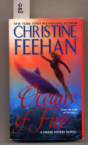Oceans of Fire by Christine Feehan PB