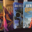 Lot of 4 Anne McCaffrey - Killashandra, Weyrs of Pern, more