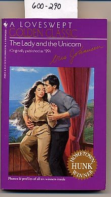 The Lady and the Unicorn #29 Loveswept by Iris Johansen PB