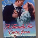 A Family for Carter Jones by Ana Seymour 1998 PB