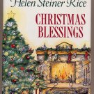 Christmas Blessings by Helen Steiner Rice HC