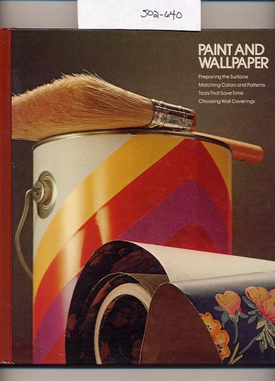Paint and Wallpaper 1976 Time Life HC