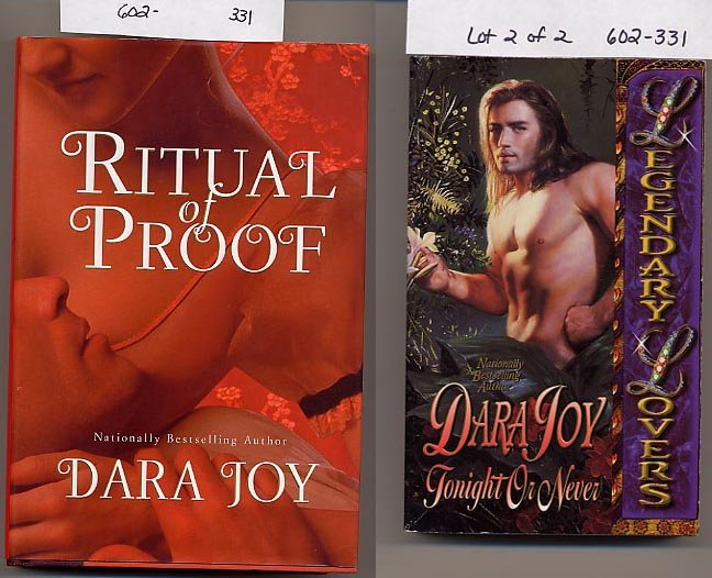 Lot of 2 Dara Joy Ritual of Proof, Tonight or Never