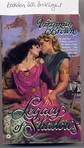 Legacy of Shadows by Virginia Brown 1987 PB