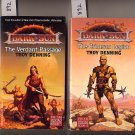 Lot of 2 Troy Denning Verdant Passage, Crimson Legion PB