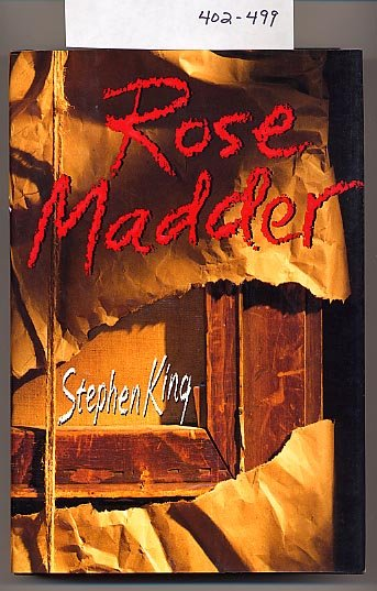Rose Madder by Stephen King HC