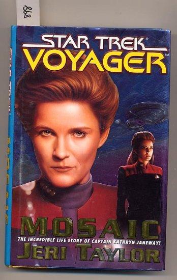 Star Trek Voyager Mosaic by Jeri Taylor HC
