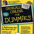 Genealogy Online for Dummies by Matthew Helm SC