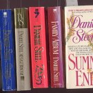Lot of 6 Danielle Steel Summer's End, Family Album, Nam, Granny more