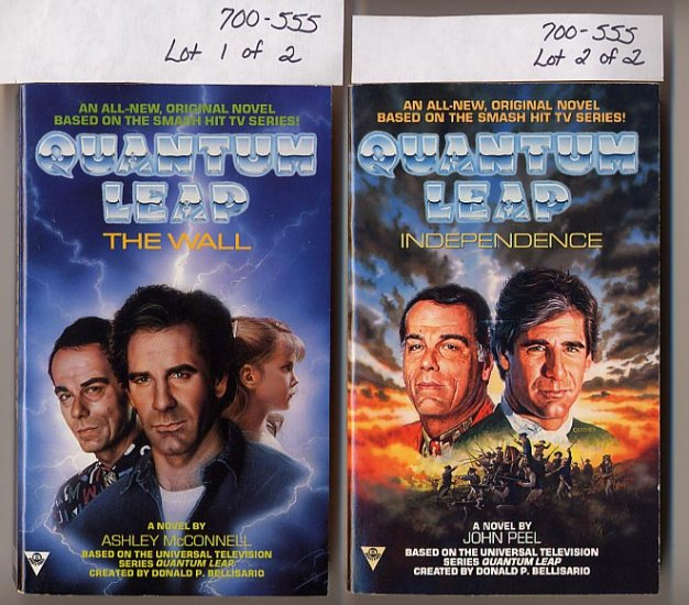 Lot of 2 Quantum Leap The Wall, Independence PB