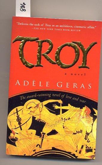 Troy by Adele Geras, mythology SC