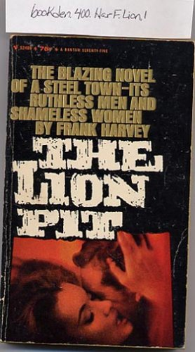 The Lion Pit by Frank Harvey 1962 PB