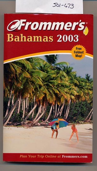 Frommer's Bahamas 2003 SC