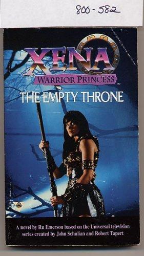 Xena Warrior Princess The Empty Throne by Ru Emerson PB