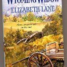 Wyoming Widow by Elizabeth Lane PB