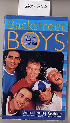 Backstreet Boys by Anna Louise Golden PB