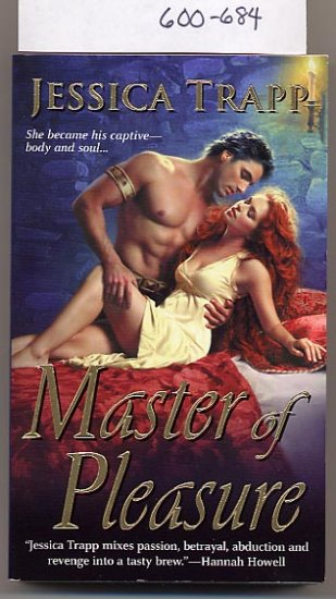 Master of Pleasure by Jessica Trapp PB