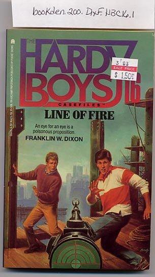Hardy Boys Casefiles #16 Line of Fire PB
